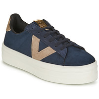 Skor Dam Sneakers Victoria BARCELONA DEPORTIVO Marin / Beige