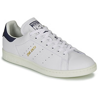 Skor Sneakers adidas Originals STAN SMITH Vit / Blå