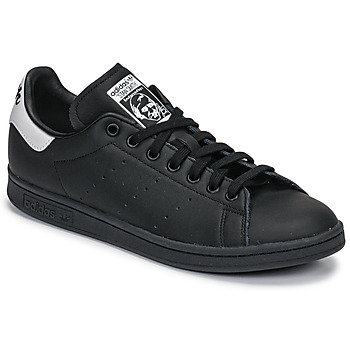 Skor Sneakers adidas Originals STAN SMITH Svart / Vit