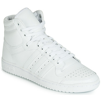 Skor Herr Höga sneakers adidas Originals TOP TEN HI Vit
