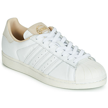 Skor Sneakers adidas Originals SUPERSTAR Vit / Beige