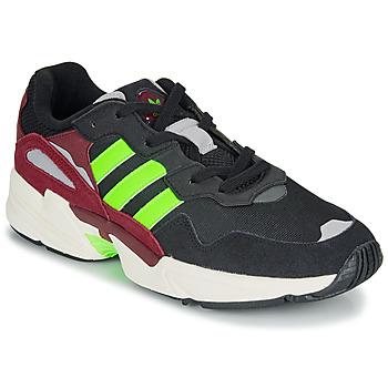 Skor Herr Sneakers adidas Originals YUNG-96 Svart / Grön
