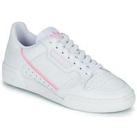 Skor Dam Sneakers adidas Originals CONTINENTAL 80 W Vit / Rosa