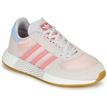 Skor Dam Sneakers adidas Originals MARATHON TECH W Grå / Rosa