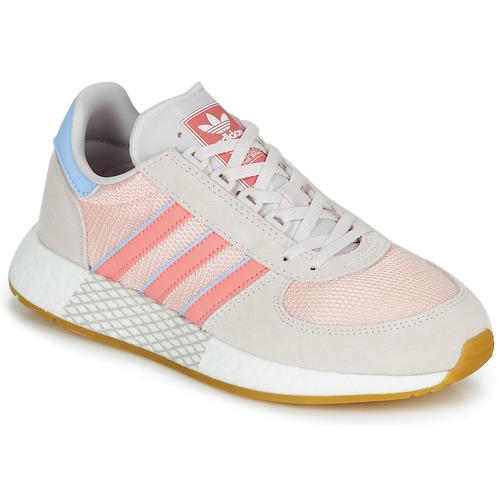 adidas grå och rosa