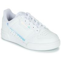 Skor Barn Sneakers adidas Originals CONTINENTAL 80 C Vit / Blå