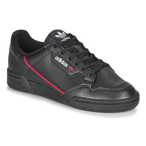 Skor Barn Sneakers adidas Originals CONTINENTAL 80 J Svart