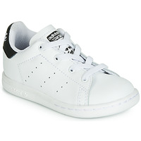 Skor Barn Sneakers adidas Originals STAN SMITH EL I Vit / Svart