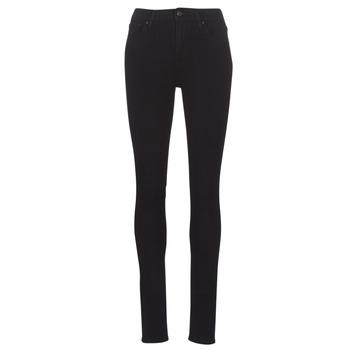 textil Dam Skinny Jeans Levi's 721 HIGH RISE SKINNY Svart