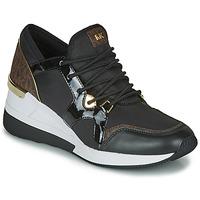 Skor Dam Sneakers MICHAEL Michael Kors LIV TRAINER Svart / Brun