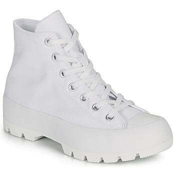 Skor Dam Höga sneakers Converse CHUCK TAYLOR ALL STAR LUGGED BASIC CANVAS Vit