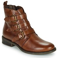 Skor Dam Boots Betty London LENA Cognac