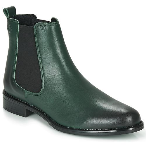 Skor Dam Boots Betty London NORA Grön