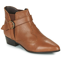 Skor Dam Boots Betty London LYDWINE Cognac