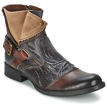 Skor Herr Boots Kdopa DETROIT Brun