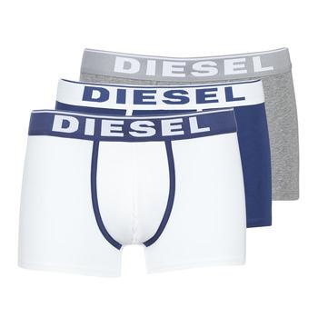 Underkläder  Herr Boxershorts Diesel DAMIEN Vit / Marin / Grå