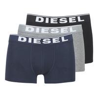 Underkläder  Herr Boxershorts Diesel DAMIEN Grå / Marin / Svart