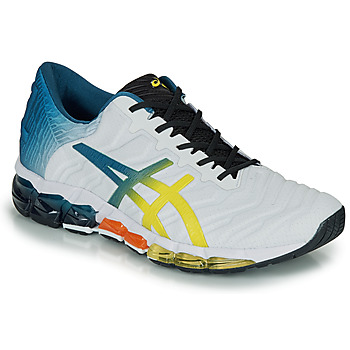 Skor Herr Sneakers Asics GEL-QUANTUM 360 5 Vit / Flerfärgad
