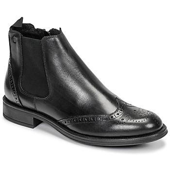 Skor Herr Boots Carlington LEVOTO Svart