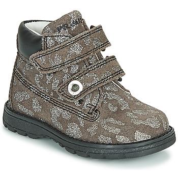 Skor Flickor Boots Primigi ASPY 1 Grå / Silverfärgad