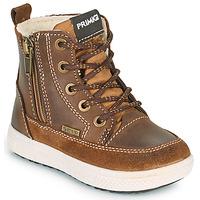 Skor Pojkar Boots Primigi (enfant) BARTH GORE-TEX Brun