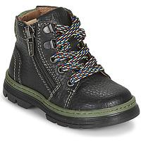 Skor Pojkar Boots Primigi (enfant) PLAY TRACK Svart