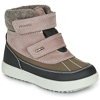 Skor Flickor Boots Primigi (enfant) PEPYS GORE-TEX Rosa / Brun