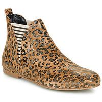 Skor Dam Boots Ippon Vintage PATCH ARTY Kamel