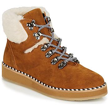 Skor Dam Boots Ippon Vintage RIDE LAND Kamel