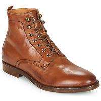 Skor Herr Boots Kost MILITANT 17 Cognac
