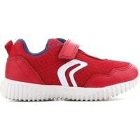 Skor Barn Sneakers Geox B Waviness Röda