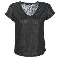 textil Dam T-shirts Le Temps des Cerises OKINAWA Svart