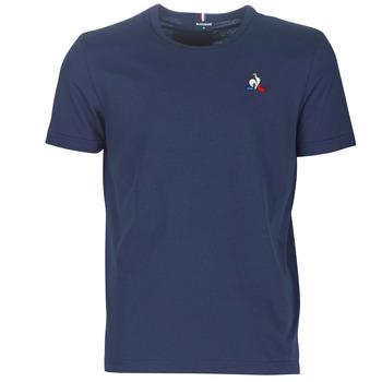 textil Herr T-shirts Le Coq Sportif ESS TEE SS N°2 M Blå / Marin