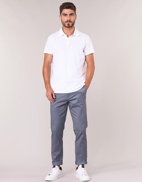 textil Herr Chinos / Carrot jeans Selected SLHSLIM Grå