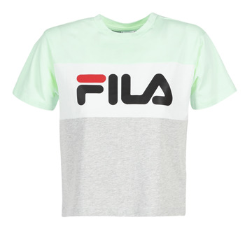 textil Dam T-shirts Fila ALLISON TEE Blå / Grå