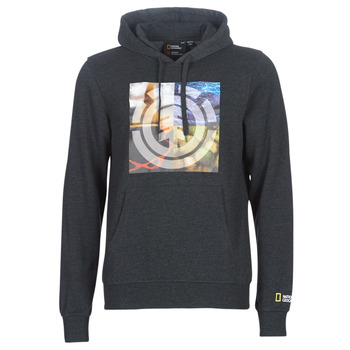 textil Herr Sweatshirts Element QUADRANT SEASONS HOOD Grå