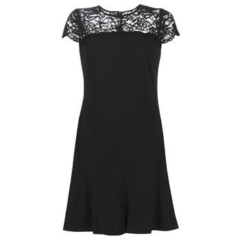 textil Dam Korta klänningar Lauren Ralph Lauren CALLY Svart