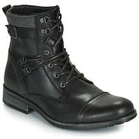 Skor Herr Boots Casual Attitude RIVIGH Svart