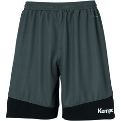 textil Herr Shorts / Bermudas Kempa Shorts  Emotion 2.0 noir/gris