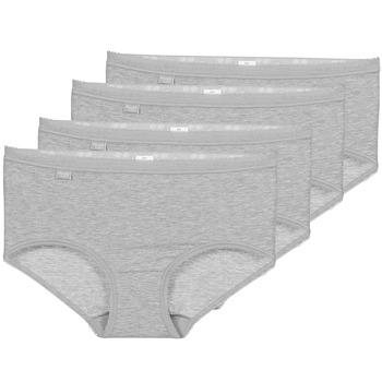 Underkläder  Dam Trosor Sloggi BASIC+ X 4 Grå