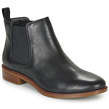 Skor Dam Boots Clarks TAYLOR SHINE Svart