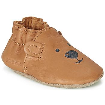 Skor Barn Babytofflor Robeez SWEETY BEAR Kamel