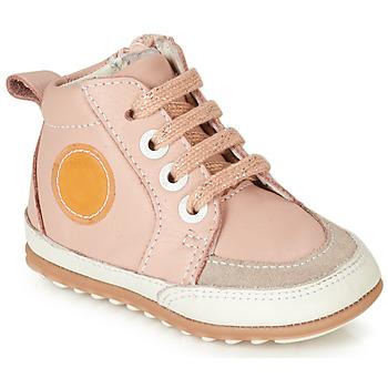 Skor Flickor Höga sneakers Robeez MIGO Rosa