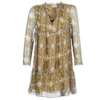 textil Dam Korta klänningar Moony Mood LONI Gul