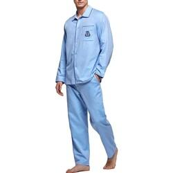 textil Herr Pyjamas/nattlinne Impetus 1563309 789 Blå