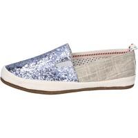 Skor Dam Slip-on-skor O-joo Sneakers BR132 Silver