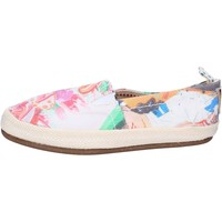 Skor Dam Slip-on-skor O-joo slip on tela Multicolore