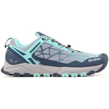Skor Dam Sneakers Salewa WS Multi Track Gråa,Blå,Blå