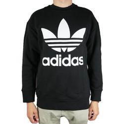 textil Herr Sweatshirts adidas Originals Originals Trefoil Over Crew CW1236