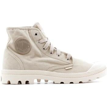 Skor Herr Höga sneakers Palladium Manufacture Pampa HI Beige